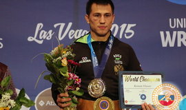 Роман Власов - двукратный чемпион мира по греко-римской борьбе!