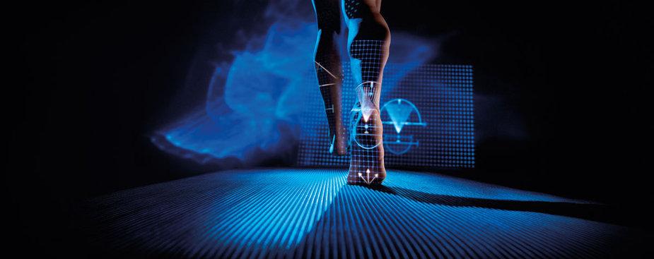 foot analysis machine