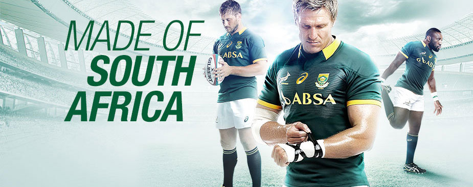 NEW SPRINGBOK COLLECTION | Rugby | ASICS South Africa