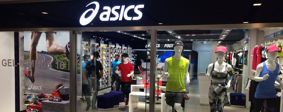 asics store in south delhi