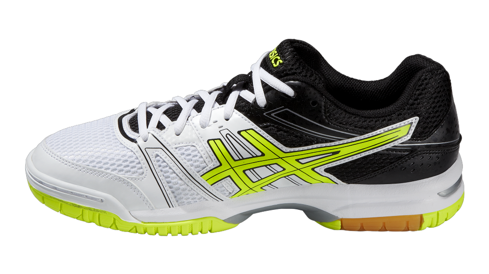 asics gel rocket 7 yellow