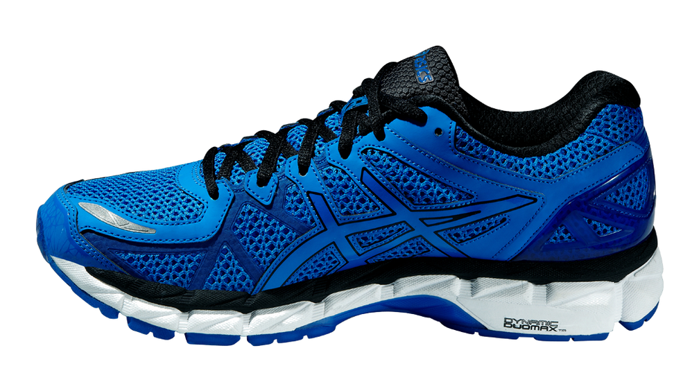 asics gel kayano 21 lite show - blue/black