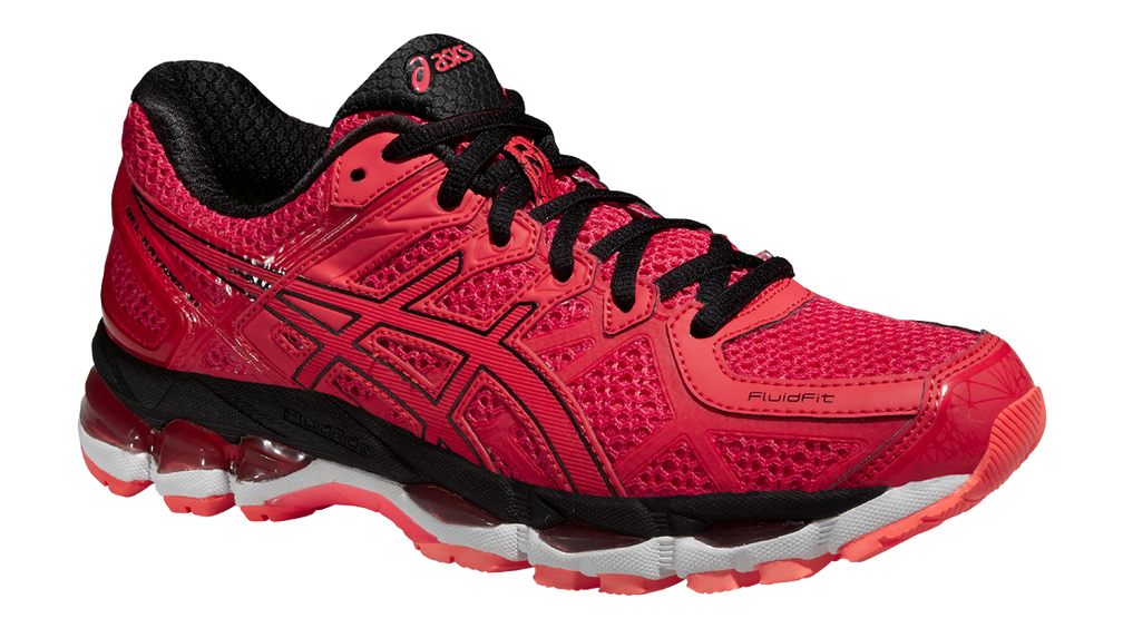 asics kayano 21 red
