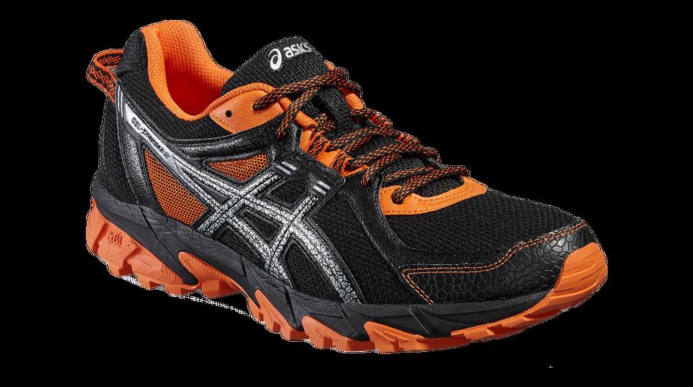 Asics Trail Running Shoes Gel-Sonoma 2 Orange Black Mens