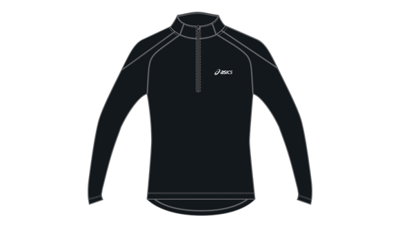 WINTER HALF-ZIP RUNNING TOP